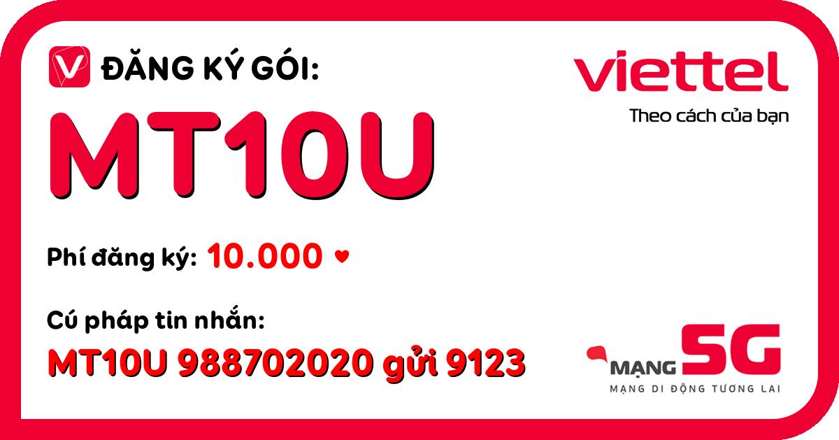 Đăng ký gói mt10u viettel